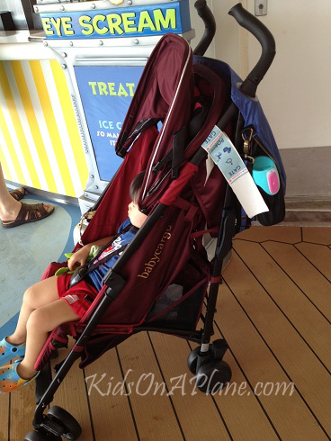 Baby Cargo 200 Stroller Series Side View