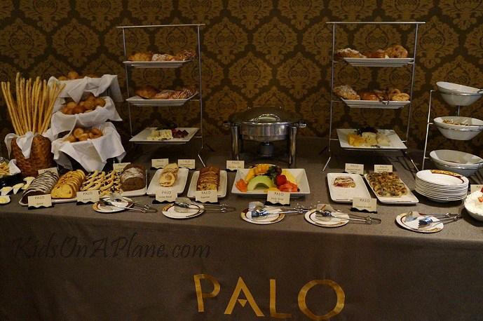 Palo Brunch Breakfast items