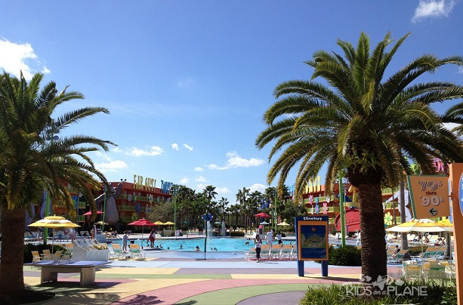 Pop Century Resort Review Hippy Dippy Pool