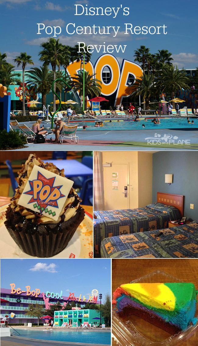 Pop Century Resort Review - KidsOnAPlane.com