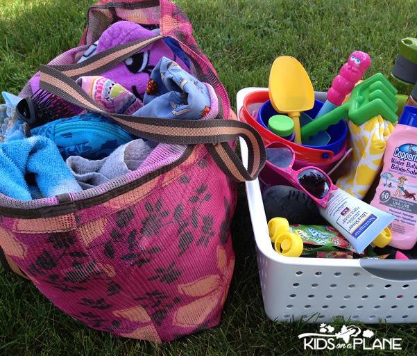 Family Beach Bag Essentials from Walmart