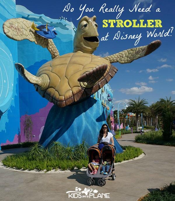 Do You Need a Stroller at Disney World