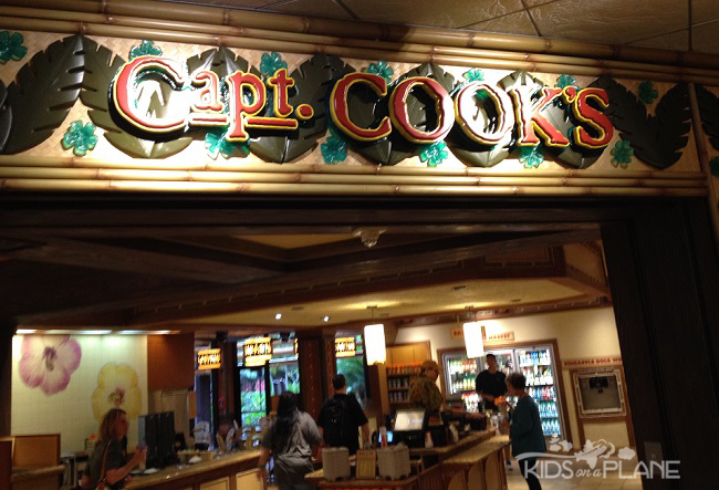 Dole Whip Disney World Polynesian Resort Captain Cooks | KidsOnAPlane.com #disneyworld #familytravel