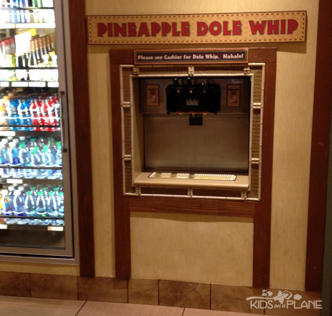 Dole Whip Disney World Polynesian Resort | KidsOnAPlane.com #disneyworld #dessert #icecream