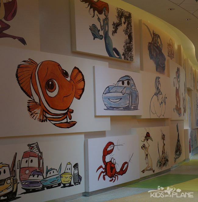 Disney's Value Resort Hotels Info - Art of Animation Lobby |KidsOnAPlane.com #familytravel #disneytravel #disneyworld