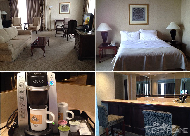 Holiday Inn Ottawa Downtown Hotel Review Hospitality Suite | KidsOnAPlane.com #hotelreview #familytravel #Ottawa #Canada
