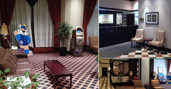 Holiday Inn Ottawa Downtown Hotel Review Lobby and Lane's Restaurant