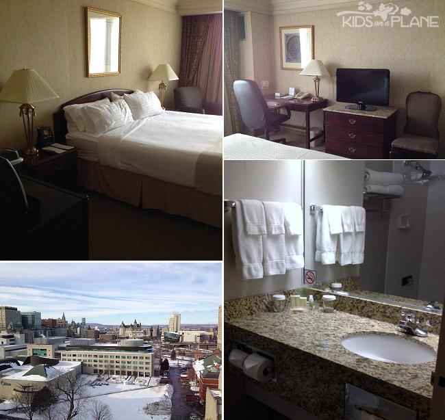 Holiday Inn Ottawa Downtown Hotel Review Standard King Room | KidsOnAPlane.com #ottawa #canada #hotel