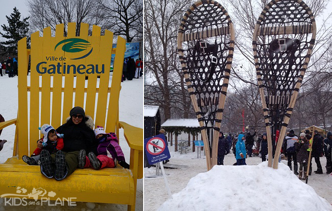 Winterlude 2014 Moments Bear Chair Snowshoes
