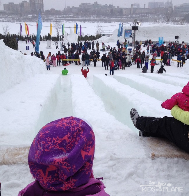Winterlude 2014 Moments Ice Slides