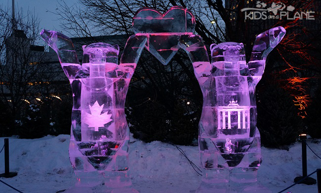 Winterlude 2014 Moments Ice Statues