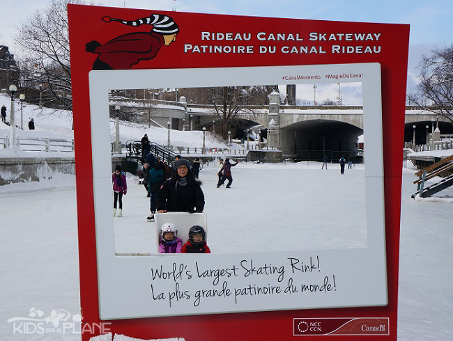 Winterlude 2014 Moments Sign