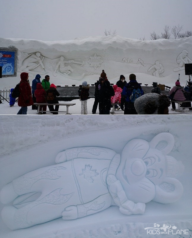 Winterlude 2014 Moments Snow Carving