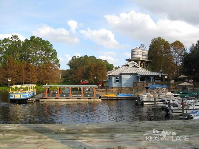 Disney's Moderate Resort Hotels Info - Port Orleans Riverside Marina |KidsOnAPlane.com #familytravel #disneytravel #disneyworld