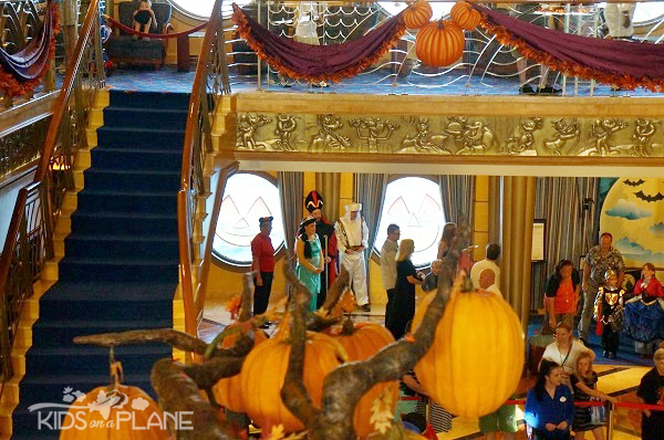 Disney Cruise Line -Halloween on the High Seas Aladdin Family