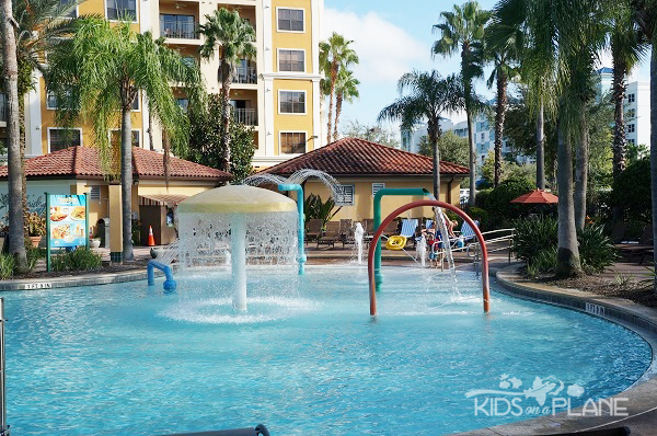 Floridays Resort Orlando Review - Splash Area for Kids