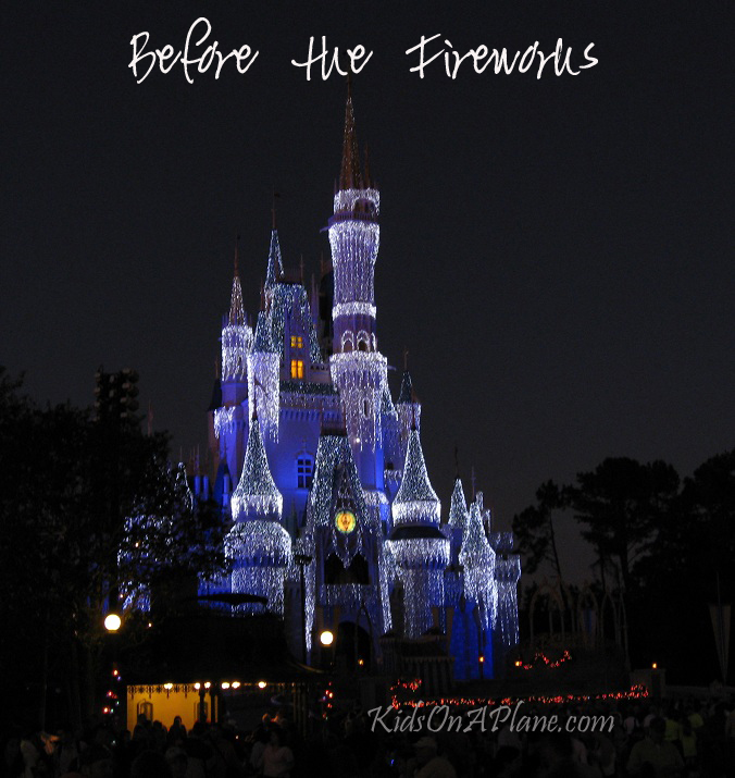 Tips for Families - Disney World Fireworks and Parades