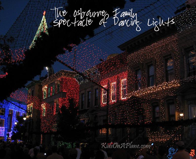 Osbourne Family Dancing Lights