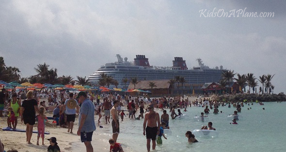 Castaway Cay Disney Boat