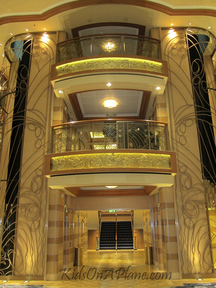 Disney Dream Cruise Ship Elevators