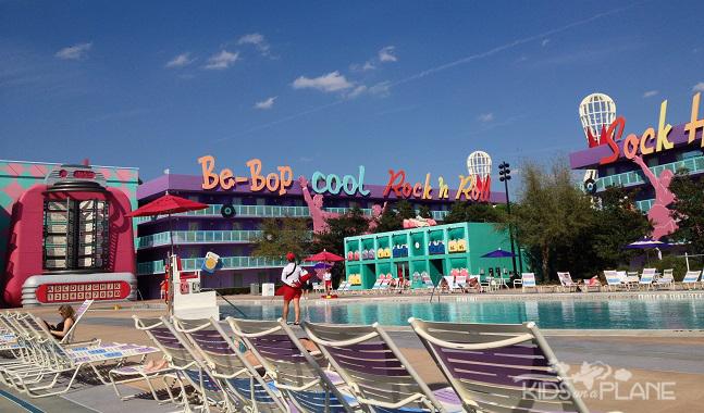 Pop Century Resort Review Bowling Pin Pool