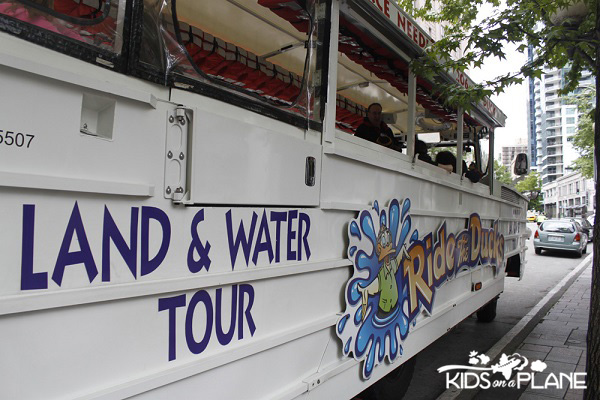 Land Water Tours From Seattle Center July
