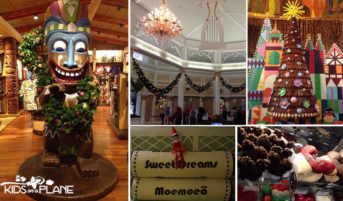 Disney World in December 2013 Around the Resorts | KidsOnAPlane.com #disneyworld #christmas #december #disneydecember