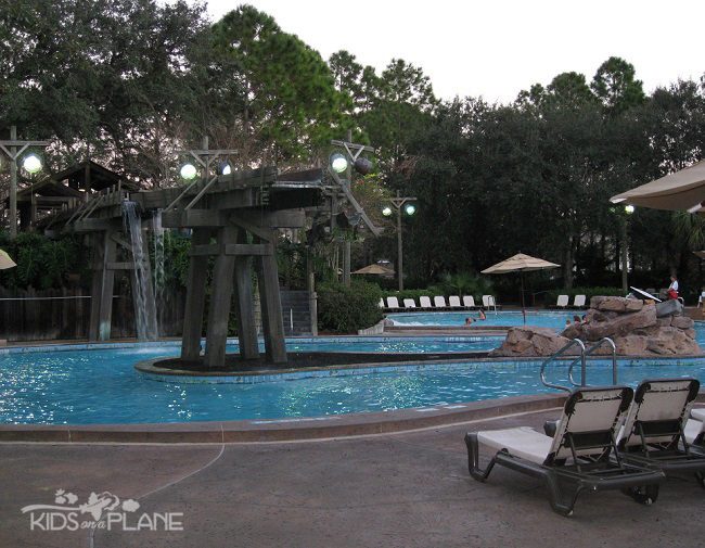 Port Orleans Riverside Resort Review Swimming Pool | KidsOnAPlane.com #disneyworld #familytravel #hotel