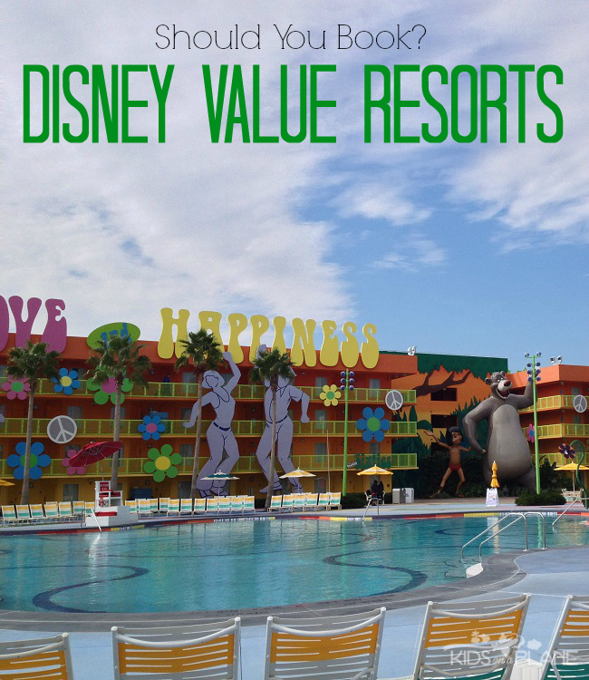 Get The 4 1 On Disney S Value Resort Hotels Should Your Family