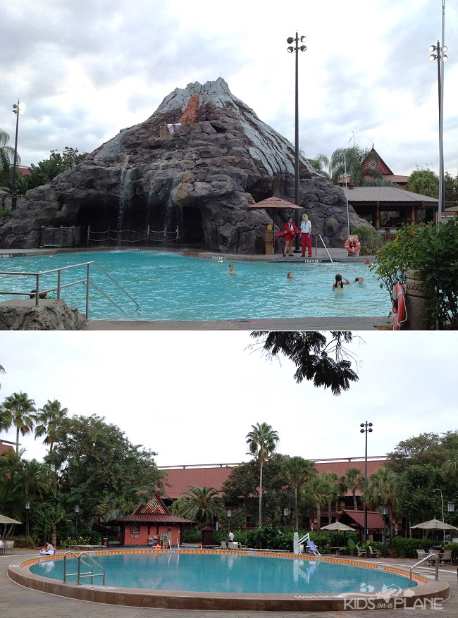 Disney World Deluxe Resort Hotel Polynesian Pools