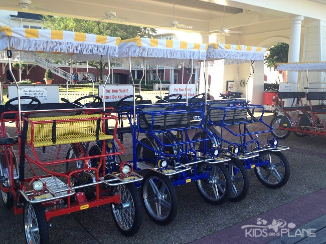 Disney's BoardWalk Inn Resort - Bikes