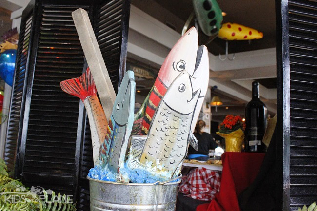 Salty's on Alki Beach Seaside Decor