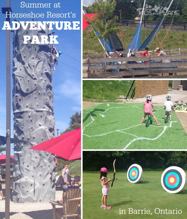 Horseshoe Resort Adventure Park Summer Review - KidsOnAPlane.com