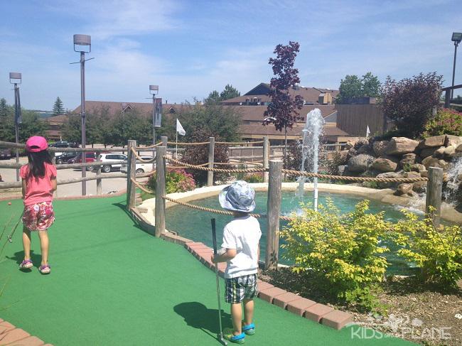 Horseshoe Resort Review Mini Golf