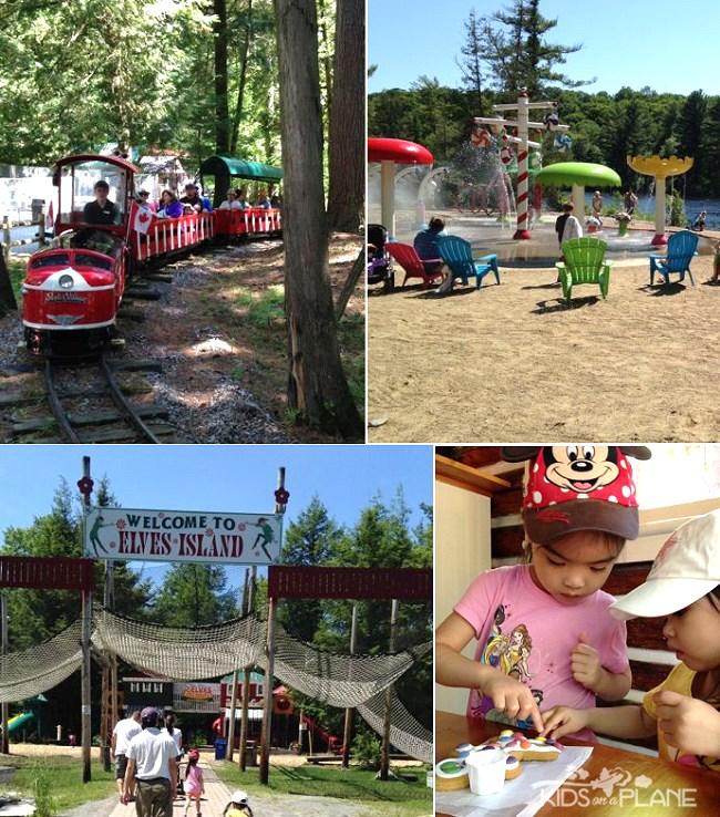 Santa's Village in Bracebridge Muskoka Ontario - KidsOnAPlane.com Family Travel Review
