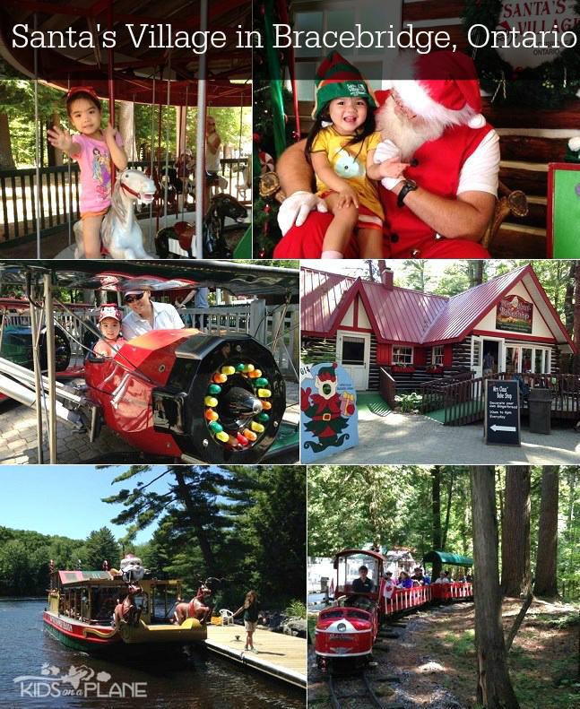 Santa's Village in Bracebridge Ontario - KidsOnAPlane.com Travel Review