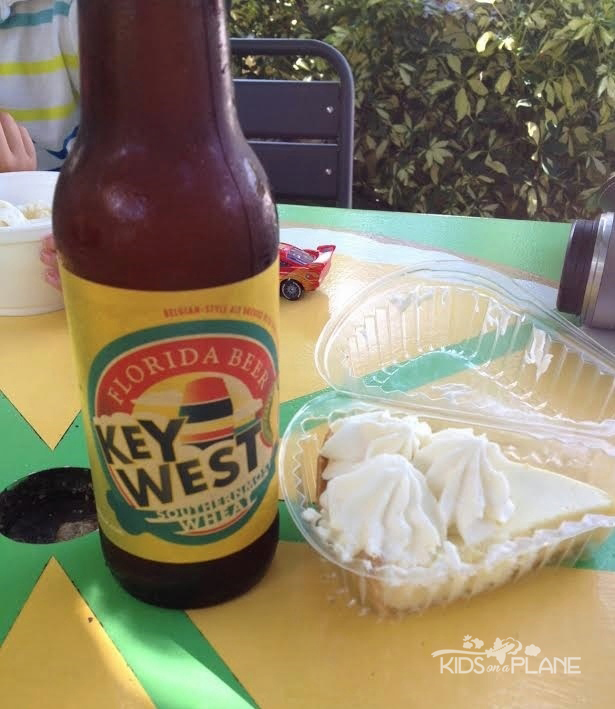 Kermits Key West Lime Pie and Beer - KidsOnAPlane.com