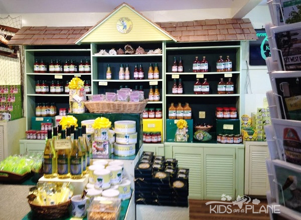 Kermits Key West Lime Shoppe - Inside Store