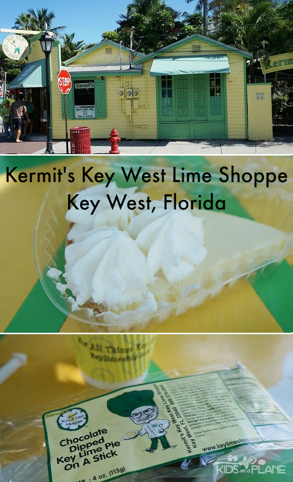 Kermits Key West Lime Shoppe Review - KidsOnAPlane.com