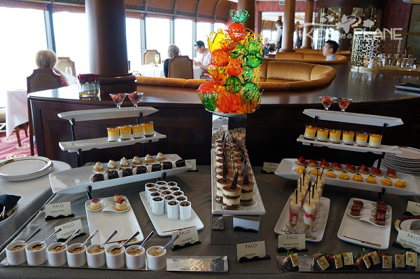 Make the Most of Disney Cruise PALO Desserts Buffet